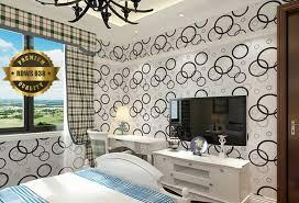 wallpaper dinding kamar pria jual wallpaper dinding kamar motif polkadot putih ukuran 45 cm x 10