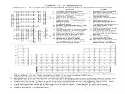 the periodic table crossword u0026 solved puzzle sc 1 st pbs