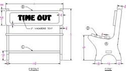 Free Wood Bench Plans by Childrens Furniture At Woodworkersworkshop Com
