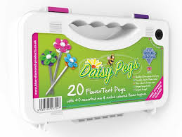 Awning Pegs Daisy Pegs Mix U0026 Match Flower Style Tent U0026 Awning Pegs