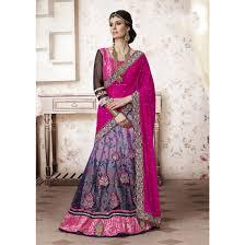 rani pink colour dusty purple and rani pink color lehenga choli mah 3740