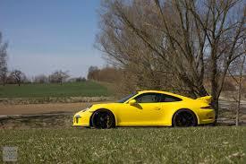yellow porsche side view gt3tour meet the racing yellow porsche 911 991 gt3