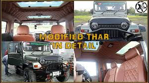 thar jeep interior modified mahindra thar crde 2017 price details with bentley