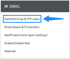 creating an email account media temple
