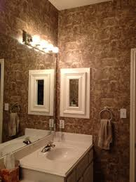 Designer Bathroom Wallpaper Modern Bathroom Master Bathroom With Wallpaper For Bathrooms Help