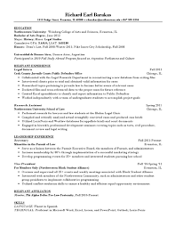Best Legal Resumes by 100 Sample Honors College Resume 34 Outline Examples In