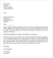 formal letter word template business letter template 43 free word