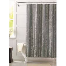 Gold Curtains Walmart by Better Homes And Gardens Birch Fabric Shower Curtain Walmart Com