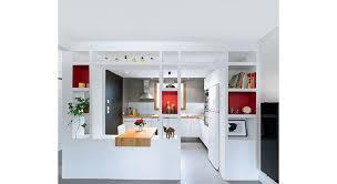 cloison cuisine salon cuisine ouverte une rénovation moderne et fonctionnelle