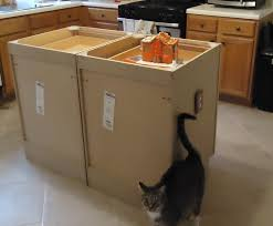 diy kitchen island stock cabinets kitchen island plans you can