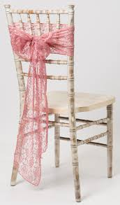 pink chair sashes wedding ideas ivory vintage chair hoods 2 wedding ideas lace
