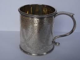 silver mug antiques atlas scottish silver mug edinburgh c1870