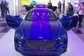 bentley purple 2018 bentley continental gt makes uk debut motoring research