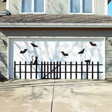 garage halloween decorations pumpkin decor halloween homemade