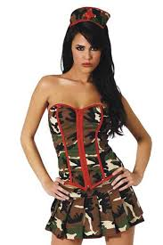Halloween Costumes Army Camo Military Surgeon Costume Shop Army Costumes Women Army