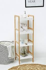 leaning bathroom shelf shelves woodworking and wood projects