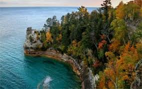 michigan fall color tour pictured rocks absolute michigan