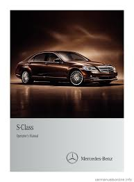 mercedes benz s class 2011 w221 owner u0027s manual
