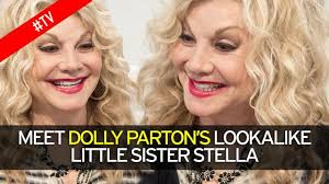 sister curls her brother hair dolly parton s lookalike sister stella reveals how famous sibling