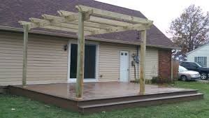 Pergola Lanterns by Before And After Indiana Homeowner U0027s Patio Transformation