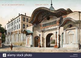 Ottoman Porte Sublime Porte Constantinople Stock Photo 65982906 Alamy