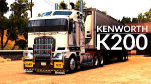 buy kenworth truck kenworth k200 american truck simulator youtube