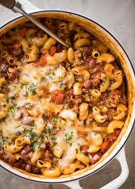 Turkey On The Table One Pot Chili Mac And Cheese Recipetin Eats