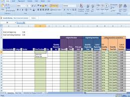 Free Excel Sales Tracking Template Annual Inventory Template Beginning And Ending Year Inventory