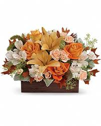 teleflora s fall chic bouquet in denver co associated wholesale