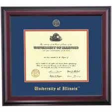 illinois at urbana champaign color traditional diploma