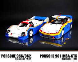 rothmans porsche 956 lego porsche 961 rothmans the porsche 961 was a racing car u2026 flickr