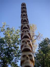 15 ft skull totem pole i totem so totems