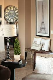 in love with the paris touch here especially the clock and the