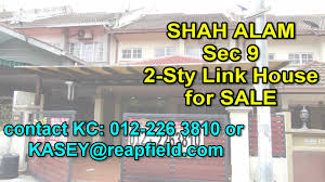 sold shah alam house for sale seksyen 9 youtube