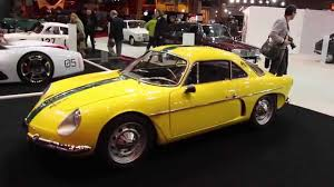 alpine a106 rétromobile 2015 willys interlagos l u0027alpine a108 made in brésil