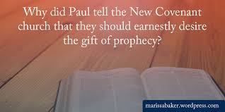 Prophecy Is For Edification Exhortation And Comfort The Gift Of Prophecy Marissa