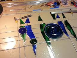 Glass For Front Door Panel by Stained Glass Entry Door Panel Mike Dumas Copper Designs Blog