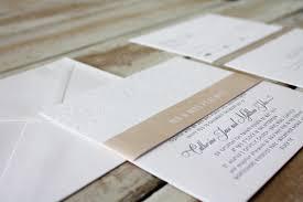 Wedding Invitations Brisbane Little Peach Blind Floral U0026 Blush Pink Letterpress