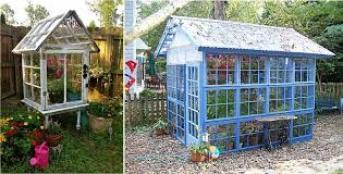 Home Design Windows And Doors 10 Greenhouses Made From Old Windows And Doors Home Design
