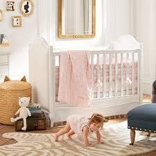 Pottery Barn Twin Bed Pottery Barn Kids Nursery Room Collection Popsugar Moms