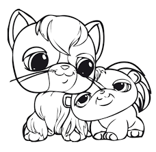 littlest pet shop coloring pages getcoloringpages com