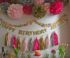 Birthday Decoration Home Birthday Party Home Decoration Good For Wonderful And Innovative