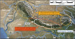 Himalayan Mountains Map Himalaya Travel Services India
