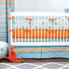 Orange Crib Bedding Decoration Orange Crib Bedding Blue Green And Set Color Scheme