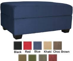 navy blue and white ottoman leather ottoman box tags black and white storage ottoman cool