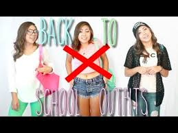 school 6th grade girl short skirt back to school appropriate outfit ideas 2014 youtube