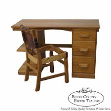 Chippendale Secretary Desk by Pennsylvania House Solid Cherry Chippendale Style Secretary Desk