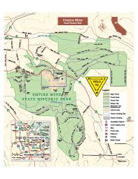 Pennsylvania State Parks Map by Park Brochure U0026 Map Empire Mine Park Association