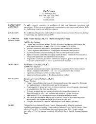 Failure Analysis Engineer Resume Summary Example For Resume Sample Executive Summary For Resume
