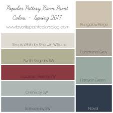 colors spring 2017 popular pottery barn paint colors favorite paint colors blog